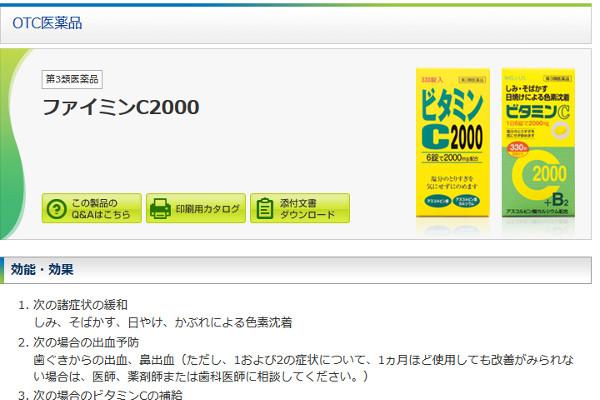 ファイミンC2000の評判・口コミ